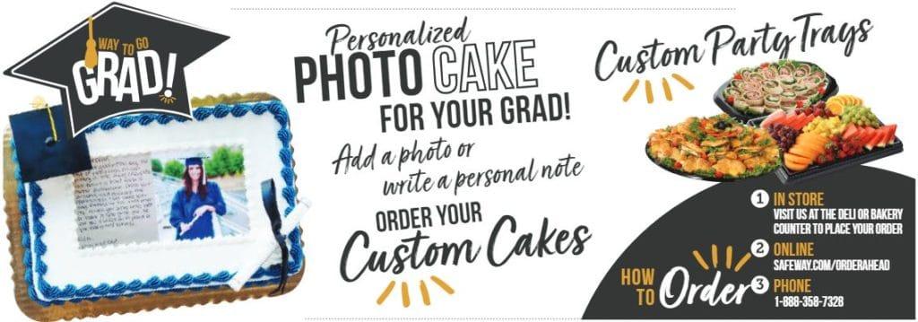 Safeway photo cake