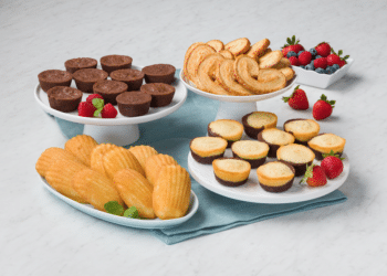 Safeway Signature SELECT Madeleine Cookies and Petite Brownie Bites Just $2.99