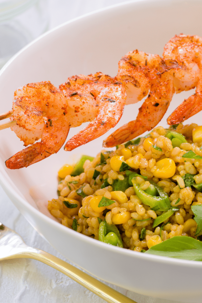 brown_rice_Salad_With_Grilled_Shrimp