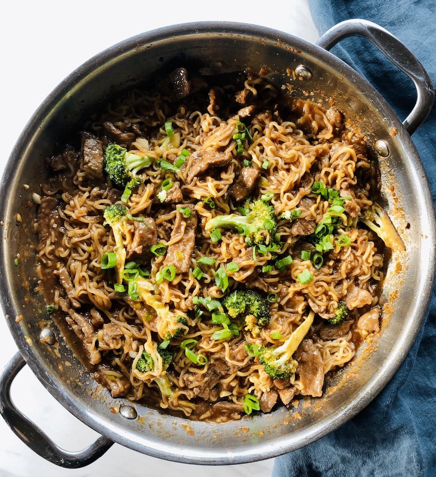 Mongolian Beef Ramen Noodles - Super Safeway