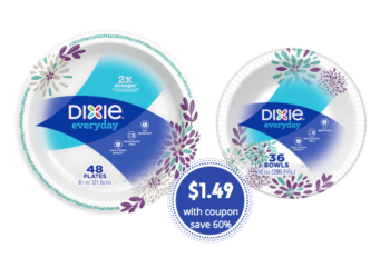 Dixie Paper Plates and Bowls Only $1.49 at Safeway – Save 60%
