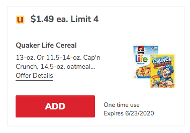 Get Cap N Crunch Cereal For Just 99 A Box At Safeway Super Safeway Sweetened corn and oat cereal. cap n crunch cereal for just 99 a box