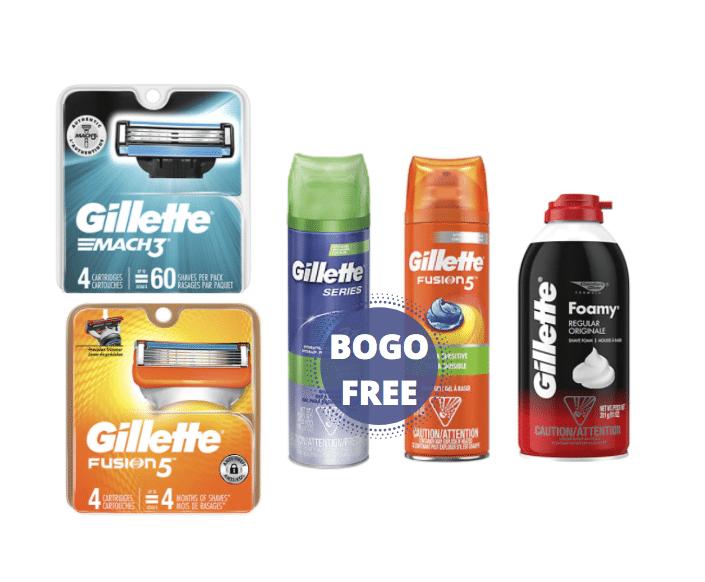 gillette_bogo_Free_Safeway