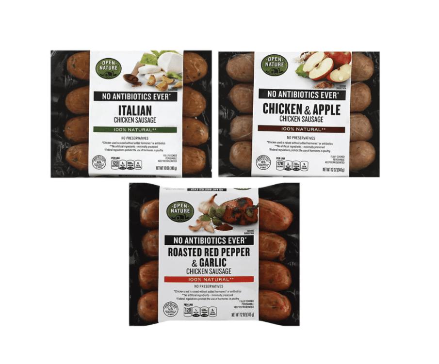 open_nature_Chicken_Sausage