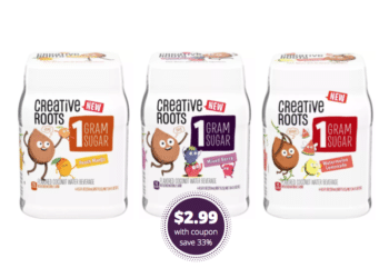 Creative Roots Flavored Coconut Water 4 Packs Just $2.99 at Safeway