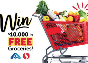 Win $10,000 in Free Groceries From Safeway and $5 Off Coupon