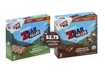 CLID KID ZBAR Filled Bars Just $2.75 at Safeway