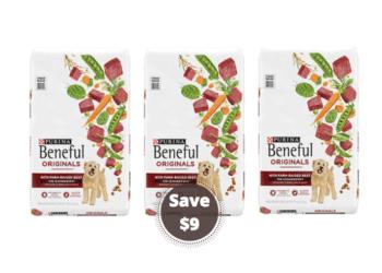 Save Over $9 on Purina Beneful Dog Food at Safeway