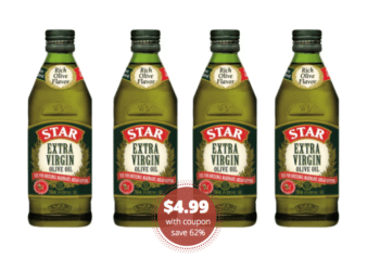 Star Extra Virgin Olive Oil 25.6 oz Just $4.99 at Safeway