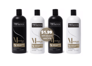 TRESemme Shampoo & Conditioner Just $1.99 at Safeway
