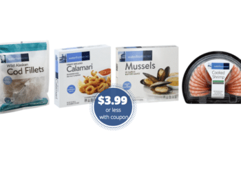 $2 off Waterfront BISTRO Seafood Coupon – Save on Cod, Salmon, Shrimp & More at Safeway