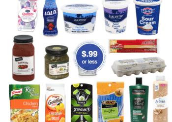 99¢ Sale – Save on Eggs, Pasta, Pesto, Rice, Cottage Cheese, Sour Cream, Siggi's, Goldfish & More at Safeway
