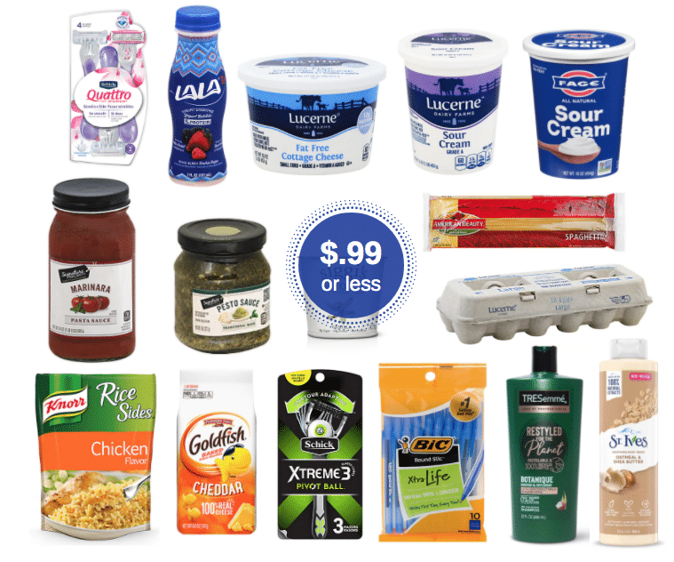 99 Sale Save On Eggs Pasta Pesto Rice Cottage Cheese Sour Cream Siggi S Goldfish More At Safeway Super Safeway