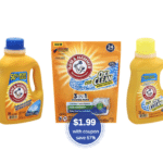 Arm & Hammer Laundry Detergent for $1.99 at Safeway (4¢/load)