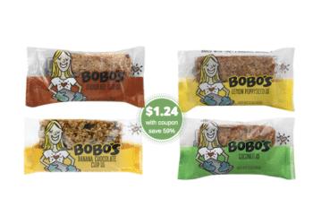 BOBO's Oat Bars Coupon – Pay Just $1.25 Per Bar at Safeway