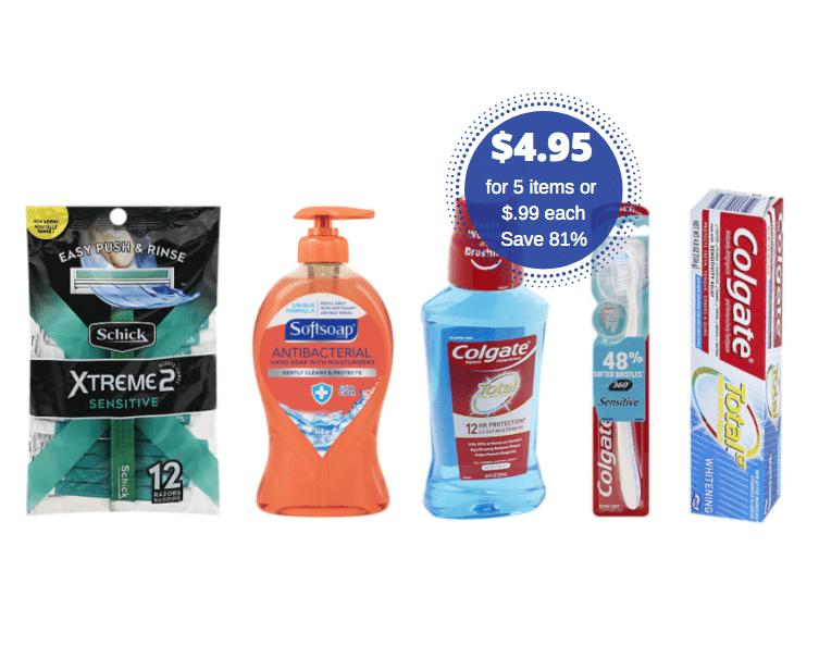 Colgate Total Toothpaste Deal Safeway