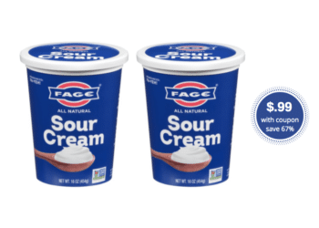 NEW FAGE Sour Cream – Try for Just $.99 at Safeway