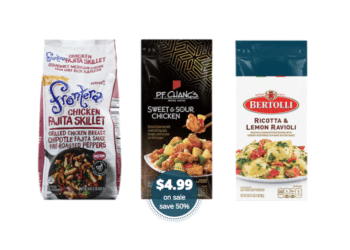 $4.99 Frontera Skillet Meals, P.F. Changs and Bertolli Entrees and 4X Rewards at Safeway