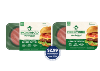 $2.99 MorningStar Incogmeato Plant Protein Burger Patties – Save 63% Safeway