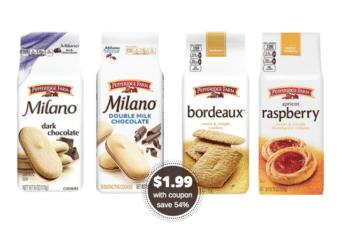 Pepperidge Farm Milano Cookies Just $1.99 – Save 54% at Safeway