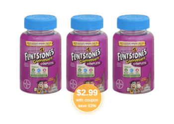 Flintstones Vitamins 70 ct. Just $2.99 at Safeway, Save 63%