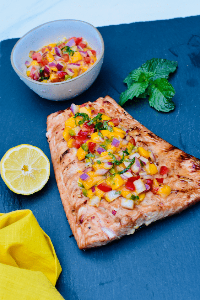 marinated_Grilled_Salmon_With_mango_Salsa