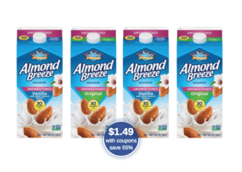 Blue Diamond Almondmilk Coupon & Sale – Pay Just $1.49 at Safeway