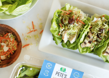 Pete's Butter Stuffers – Easy Lettuce Wrap Dinner Kits