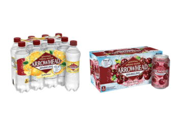 Arrowhead Sparkling Water 8 Packs Just $1.74 at Safeway