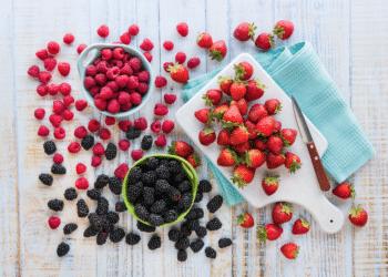 99¢ Strawberries, Raspberries and Blackberries at Safeway