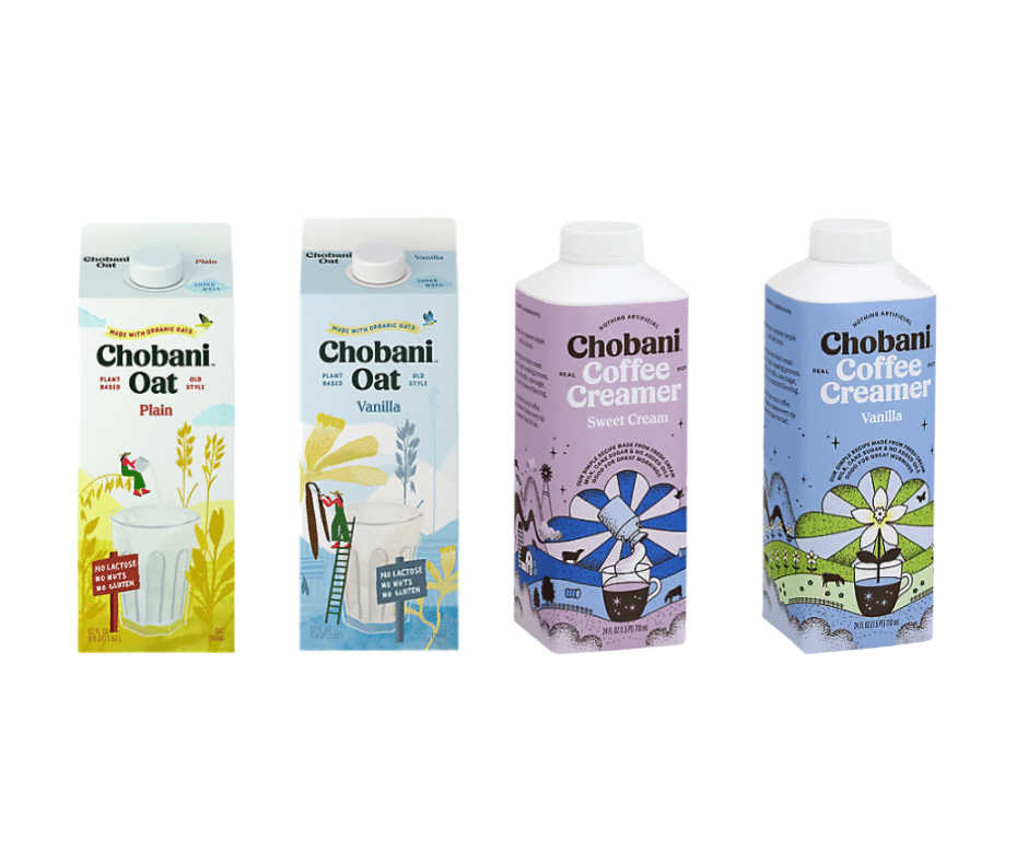 chobani oat milk and creamer