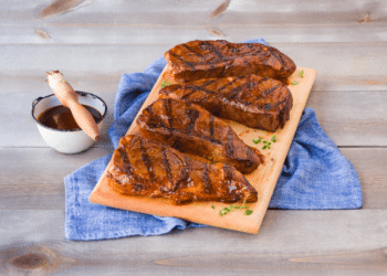 99¢ lb. Country Style Ribs and BBQ Sauce at Safeway