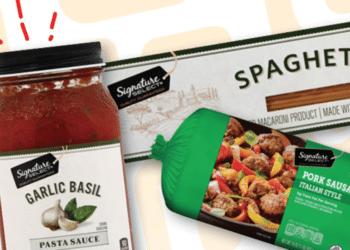 $5 Extreme Value Meal Deal at Safeway – Save 62% on Pasta, Sausage & Parmesan Dinner