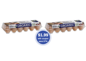 Pete & Gerry's Organic Eggs as Low as $1.99 at Safeway