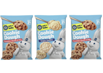 New Pillsbury Safe to Eat Raw Cookie Dough Just $2.16 at Safeway