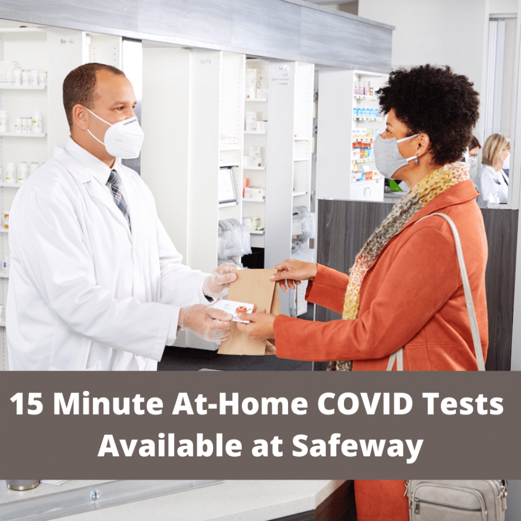 15 Minute At-Home COVID Tests