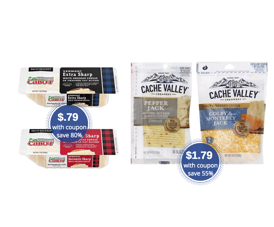 Cabot Cheese Cracker Cuts Just 79 And Cache Valley Cheese 1 79 At Safeway Super Safeway