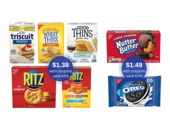 Nabisco Snack Crackers Just $1.38, OREO Cookies Just $1.49 at Safeway