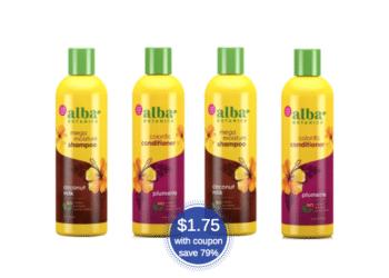 Alba Botanica Shampoo & Conditioner Just $1.75 Each at Safeway (Save 79%)