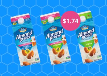 Blue Diamond Almondmilk Coupon & Sale – Pay Just $1.74 at Safeway