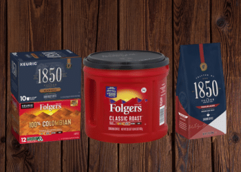 Folgers 1850 Coffee and Folgers Tubs As Low as $3.49 at Safeway