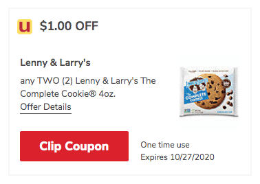 lenny & larry's cookie coupon