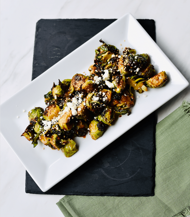 roasted_Sweet and_Spicy_Brussels_Sprouts