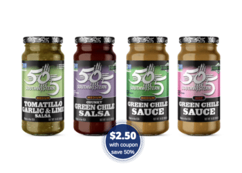 505 Southwestern Salsa or Green Chile Just $2.50 With Coupon at Safeway
