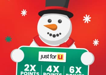 Safeway Holiday Rewards – Earn Up To 6x Reward Points and Save $20 on Gift Cards
