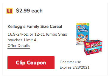 Kellogg's_Cereal and Snax Coupon