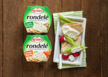 Save 60% on Rondelé Cheese Spread at Safeway – Just $1.99 Per Cup