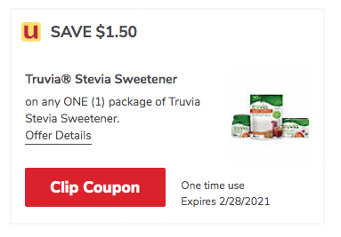 Truvia_Coupon