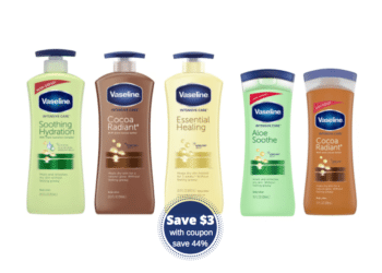 New $3.00 off Vaseline Lotion Coupon – Pay as low as $2.99 at Safeway
