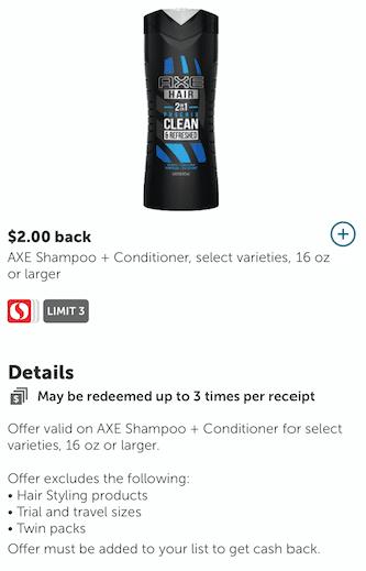 axe_Shampoo_Coupon